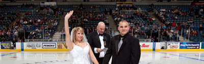 Getting married? How about on the ice at an Admirals game. By me!