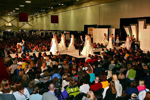 Wisconsin Wedding Show, Wonderful World of Weddings fashion show on Wed in Milwaukee