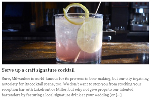Serve up a craft signature cocktail