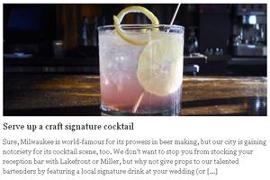 Serve up a craft signature cocktail