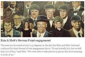 Erin & Matt's Stevens Point Engagement