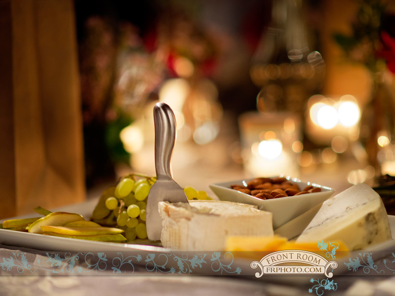 Cheese course by Lee John's Catering, photo by Front Room Photography