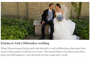 Katrina & Josh's Milwaukee wedding