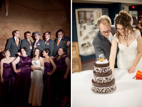 Milwaukee Public Museum wedding photography by Laura Zastrow Photography on WedinMilwaukee.com