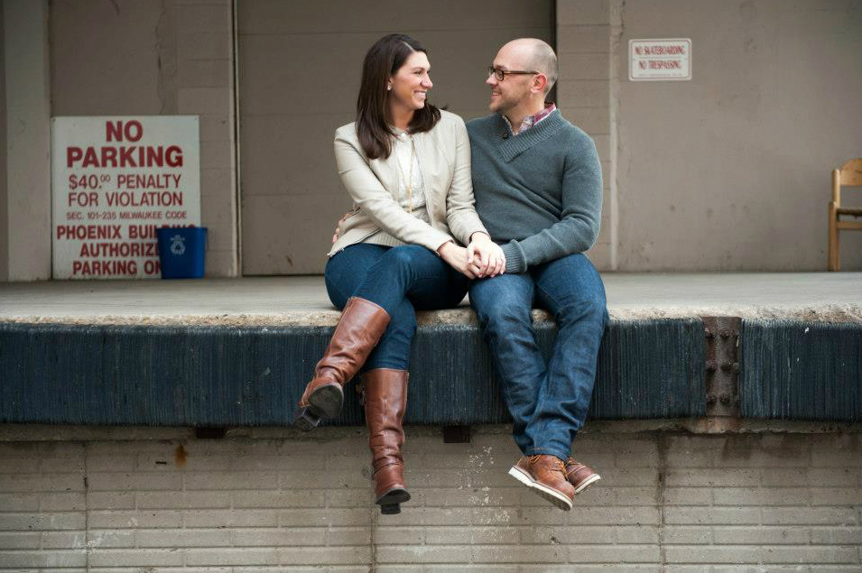 Wisconsin engagement by Pat Manning Photography on Wed in Milwaukee