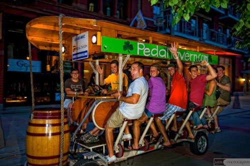 Milwaukee Pedal Tavern photography by Meir Photography