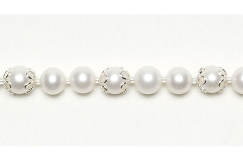 Pearl necklace by Bead Style Magazine, Kalmbach Publishing.