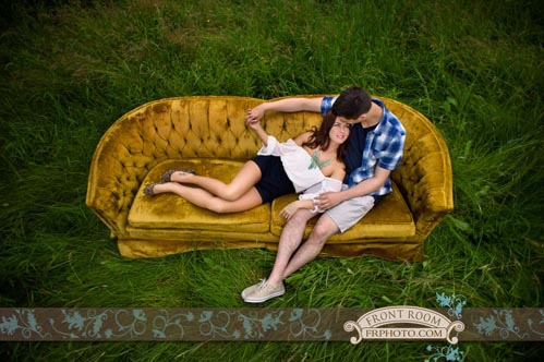 Mequon engagement photography on Wed in Milwaukee by Front Room Photography