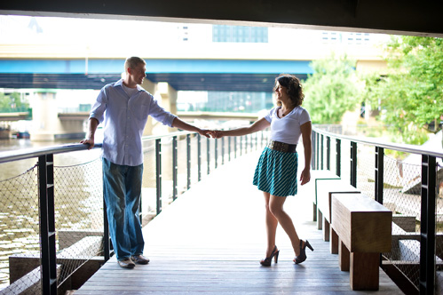 Milwaukee engagement photography on Wed in Milwaukee by Alex & Natalie Nelson Photography