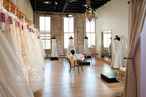 Miss Ruby Bridal Boutique on Wed in Milwaukee