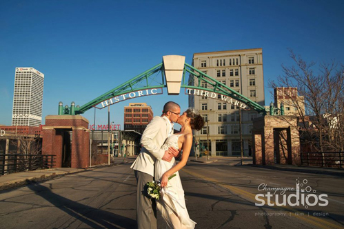 Weddings in the Ward Milwaukee by Champagne Studios