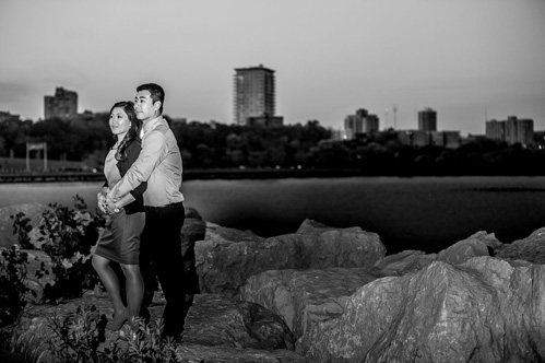 Milwaukee engagement photography by Tres Jolie Photo on Wed in Milwaukee.