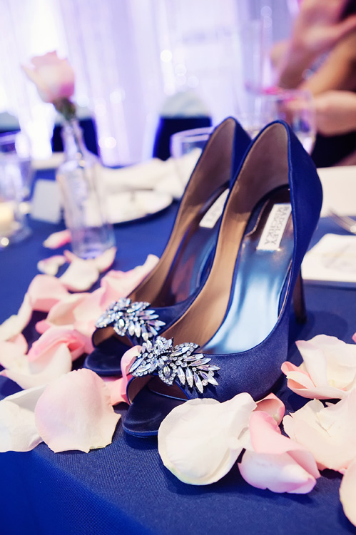 Wedding shoes by David Orndorf Photography on Wed in Milwaukee.