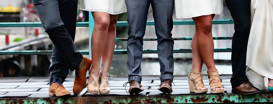 Wedding shoes by Gloss Photography Studios on Wed in Milwaukee.
