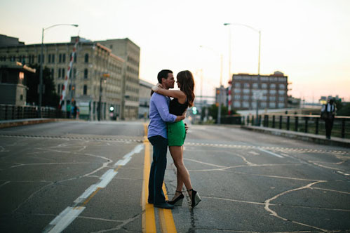 Engagement photography by Joe Hang Photography on Wed in Milwaukee.