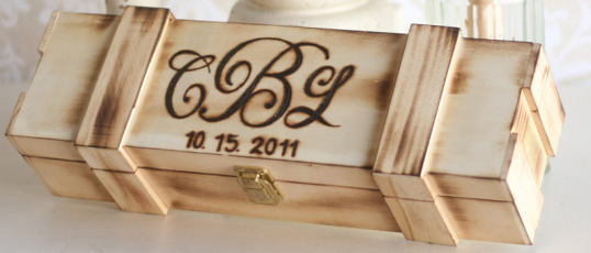 Creating a time capsule for your wedding