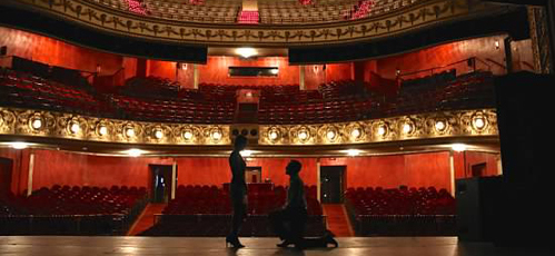 Surprise proposal at The Pabst Theater