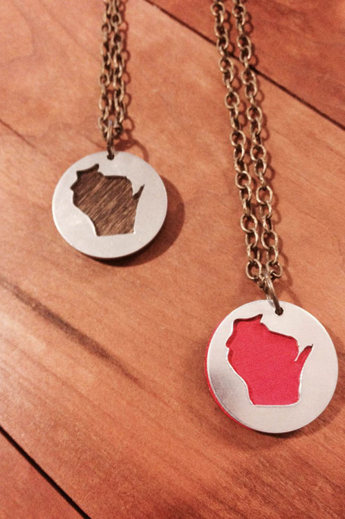 Wisconsin-necklace