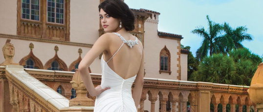 Sheath wedding dresses to swoon over