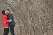 Jessica & Rob's Whitnall Park engagement